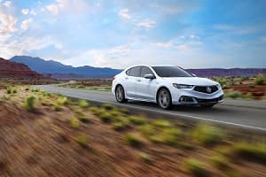 2018 Acura TLX in Bellanova White Pearl