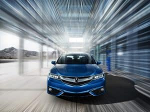 2018 Acura ILX with Technology Plus in Cataline Blue Pearl