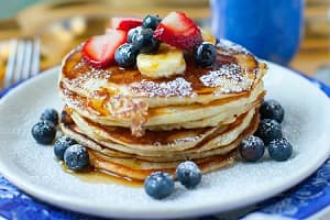 Yummy Stack of Pancakes