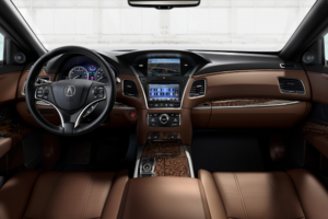 2019 Acura RLX Technology Dashboard Espresso