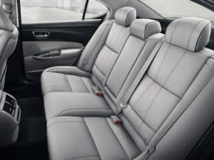 2019 Acura TLX back seats
