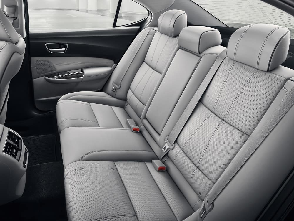 2019 Acura TLX Interior Backseat