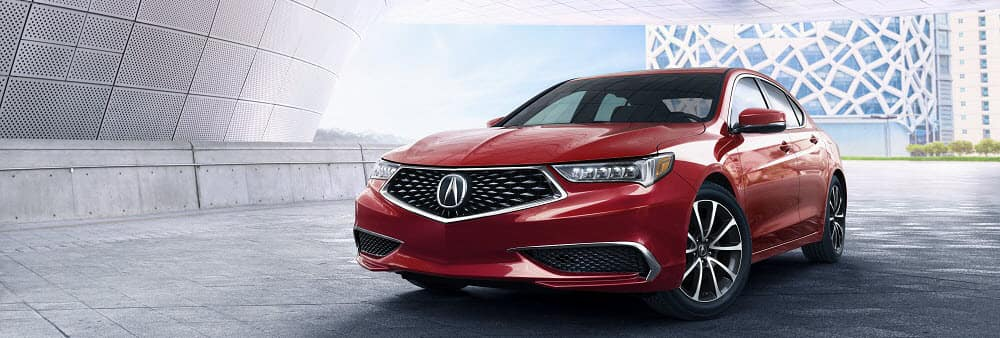 Acura TLX Red Leasing