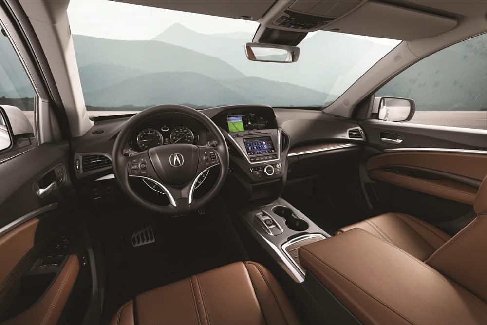 2019 Acura MDX Spacious Interior