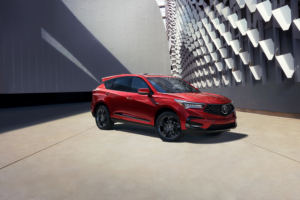 Acura RDX in Red