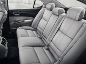 2019 Acura TLX grey interior