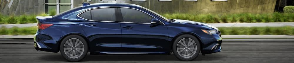 Dark blue 2019 Acura TLX