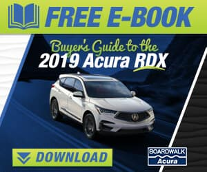 Buyer's Guide to the 2019 Acura RDX eBook CTA