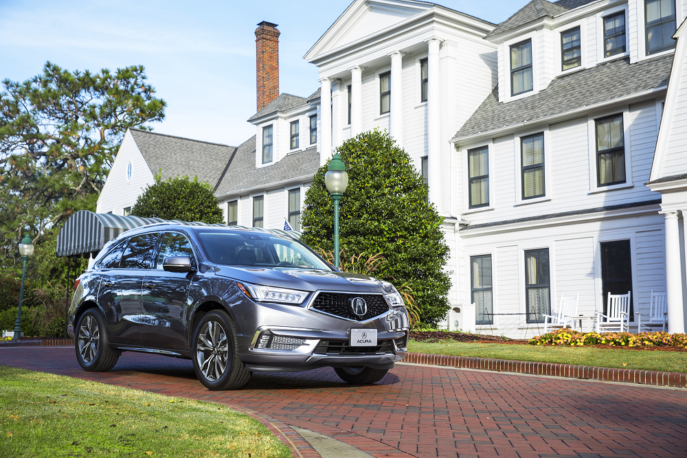 Acura MDX SH-AWD Advance Package in Modern Steel Metallic