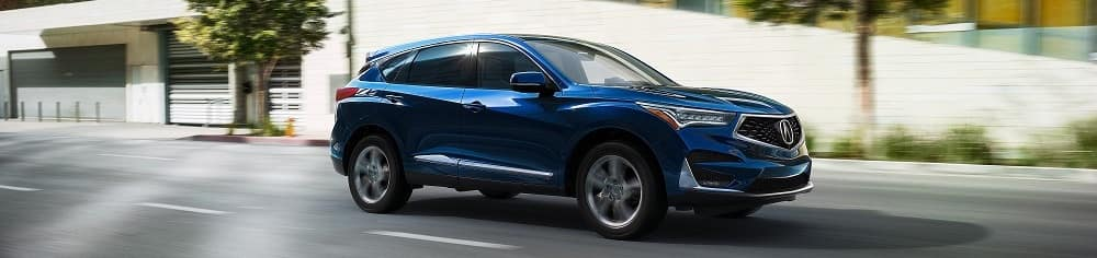 Fathom Blue Pearl Acura RDX Towing Capacity