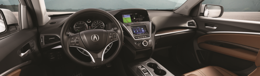 Acura MDX vs INFINITI QX60: Interior Features