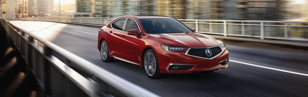 2019 Acura TLX San Marino Red