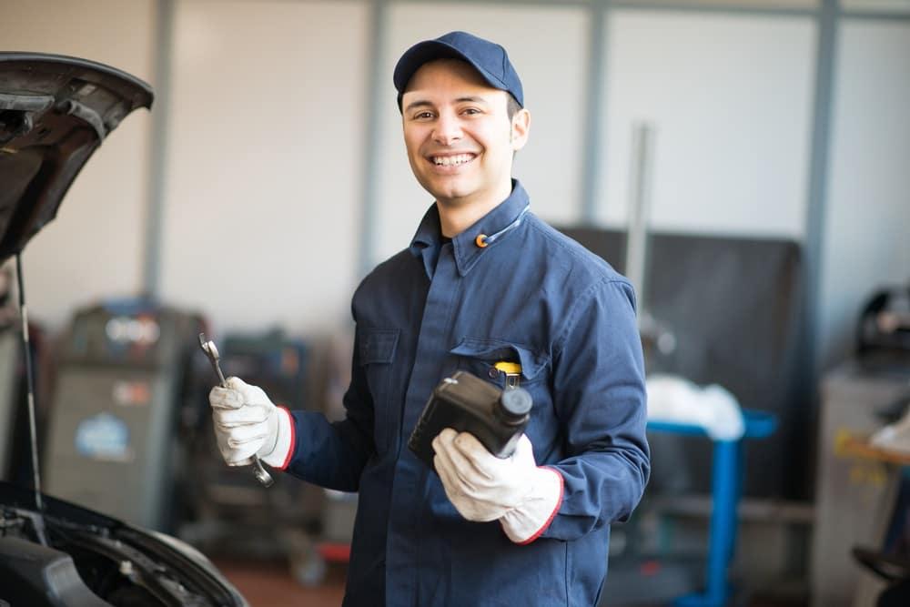 Oil Change Mechanic