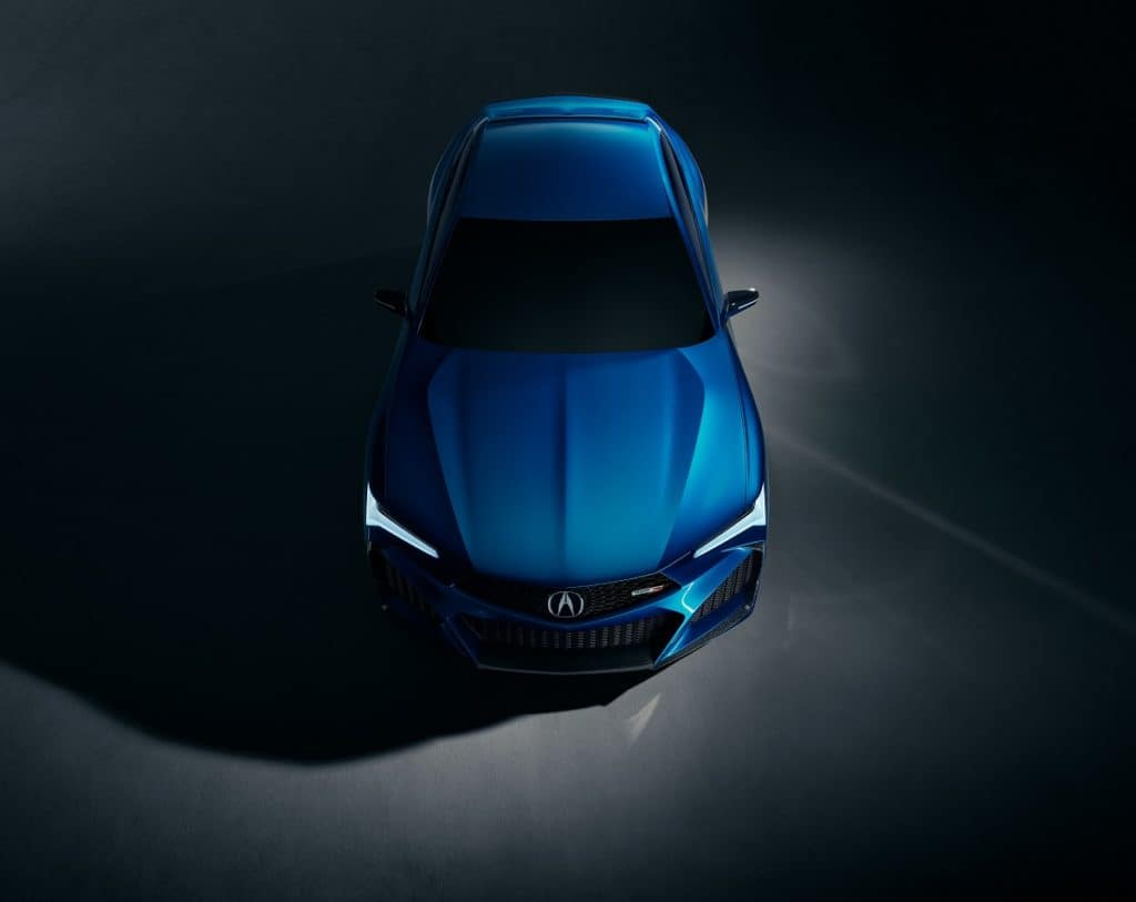 Acura Type S Concept - Aerial Top Shot