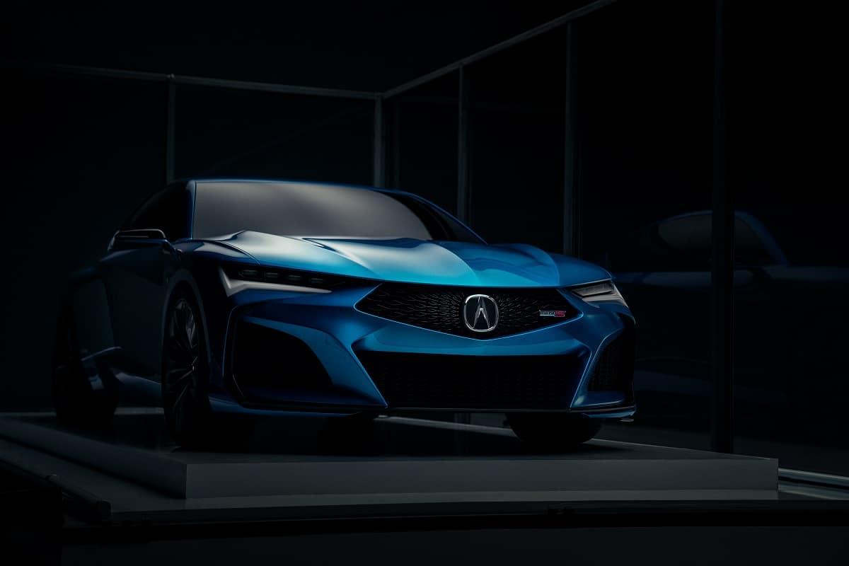 Acura Type S Concept Platform Shot