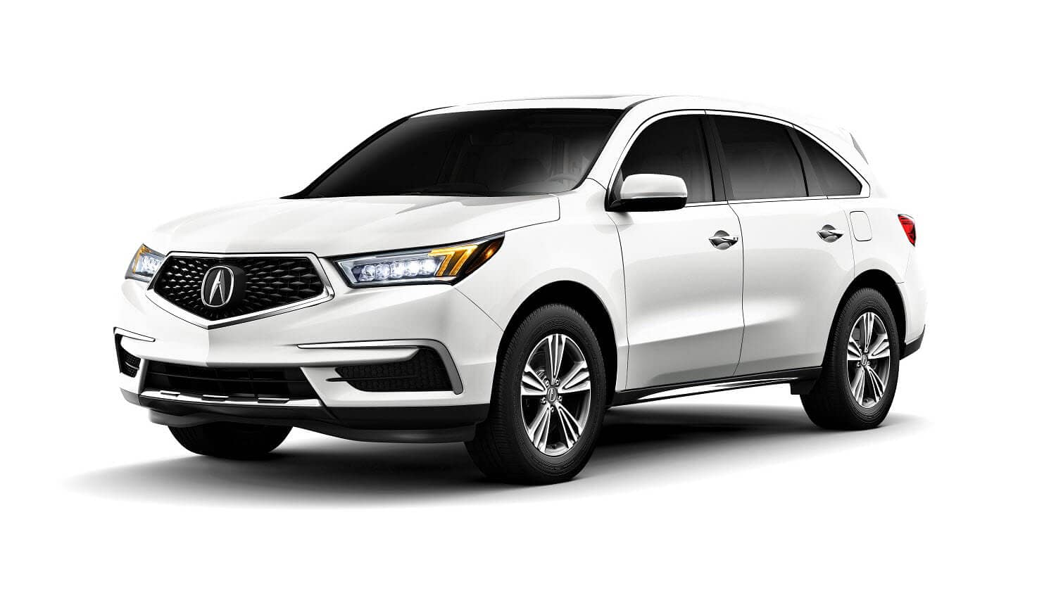 2020 Acura MDX Base in White Diamond Pearl