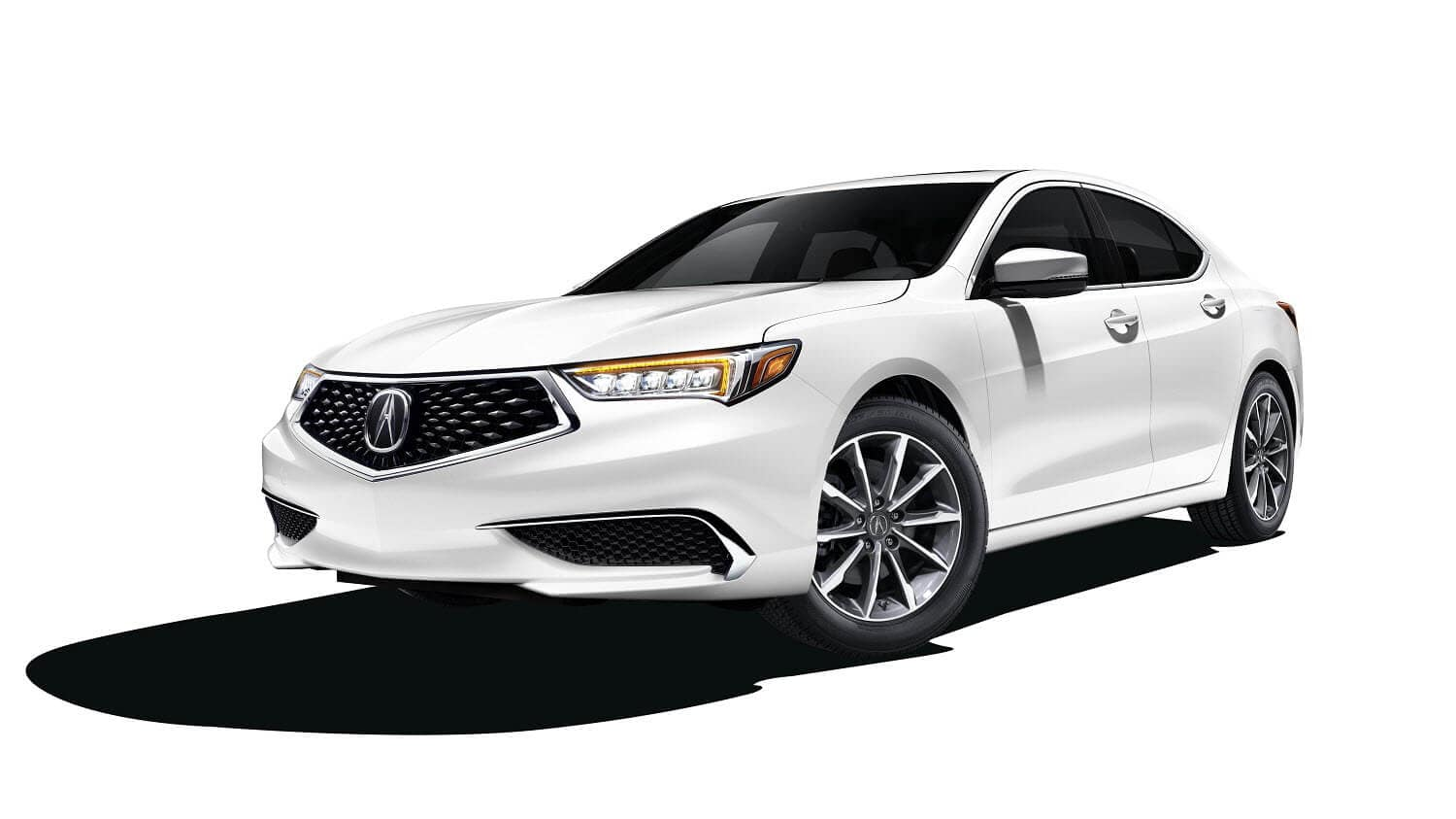 2020 Acura TLX Base in Platinum White Pearl