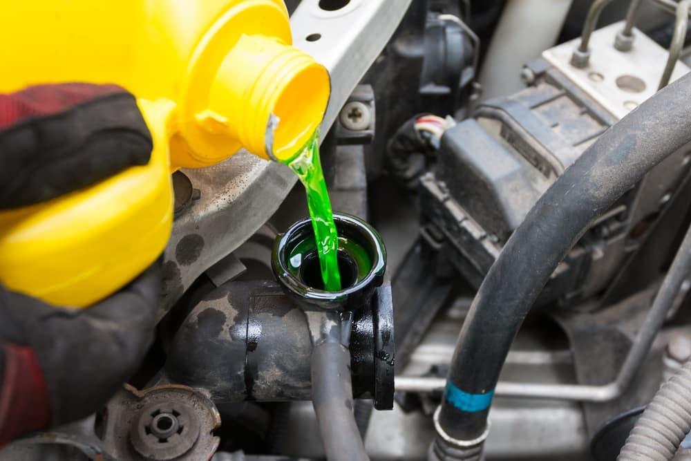 Filling Engine Coolant