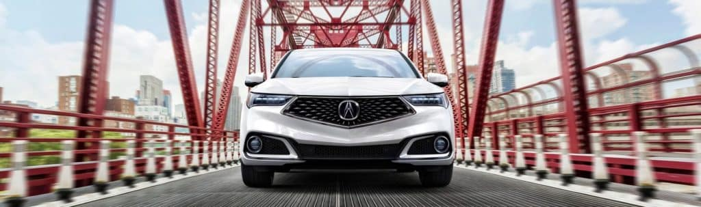 Acura TLX in White
