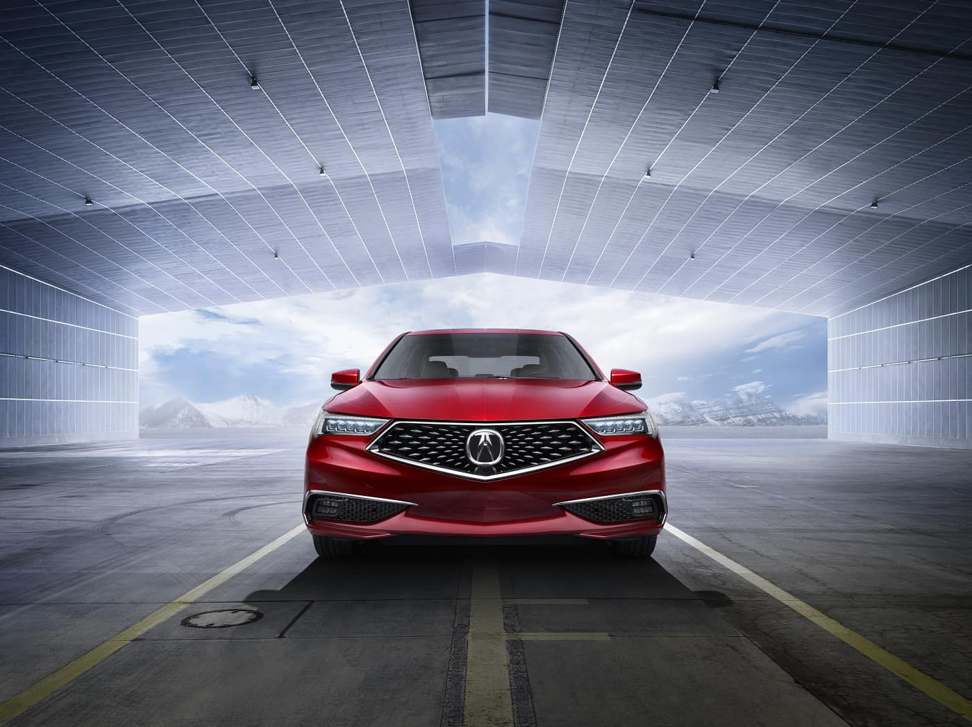 2020 TLX Red