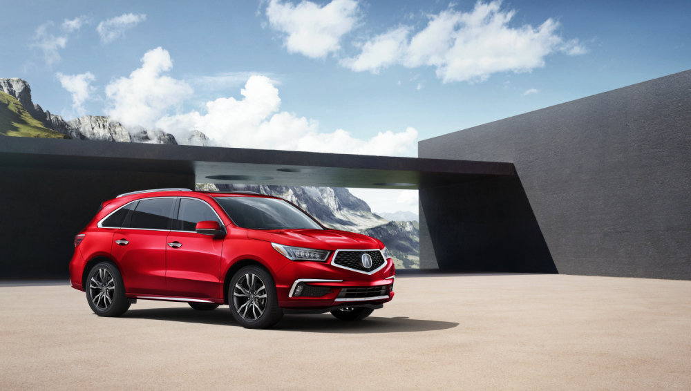 2020 Acura MDX SH-AWD Advance Performance Red