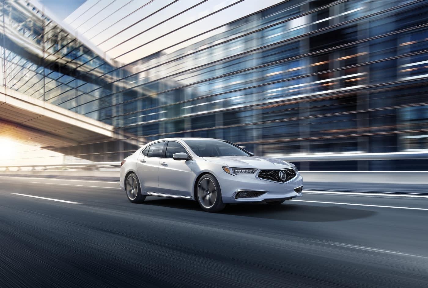 Acura TLX Platinum White