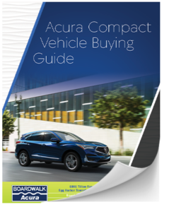 Acura Compact Car Buying Guide