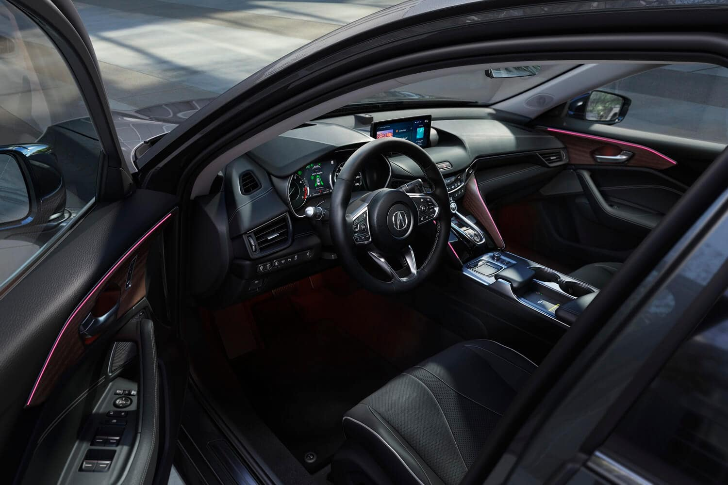 2021 Acura TLX Interior View from Drivers Side