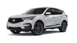 2021 Acura RDX A-Spec in Platinum White Pearl