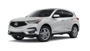 2021 Acura RDX Advance in Platinum White Pearl