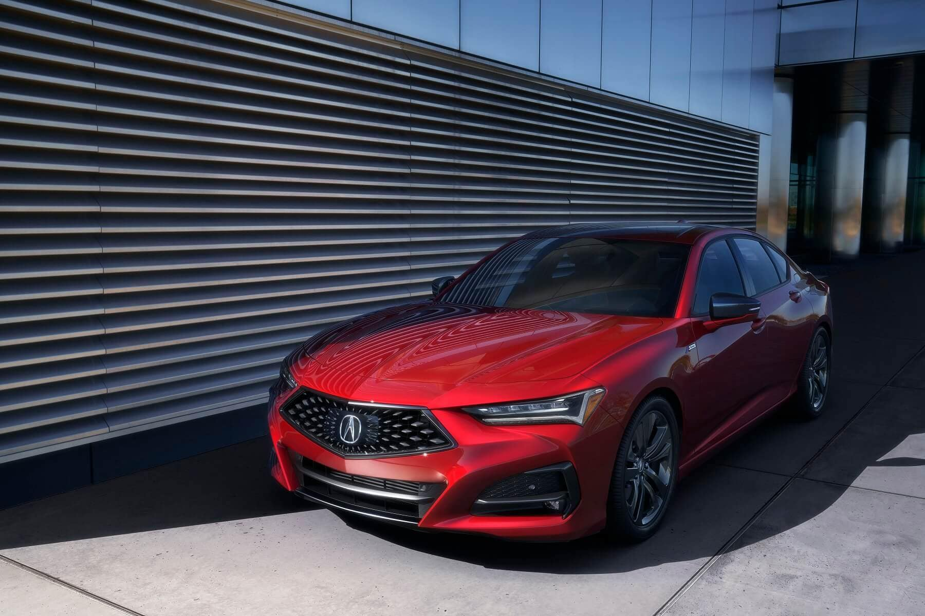 2021 Acura TLX A-Spec in Red