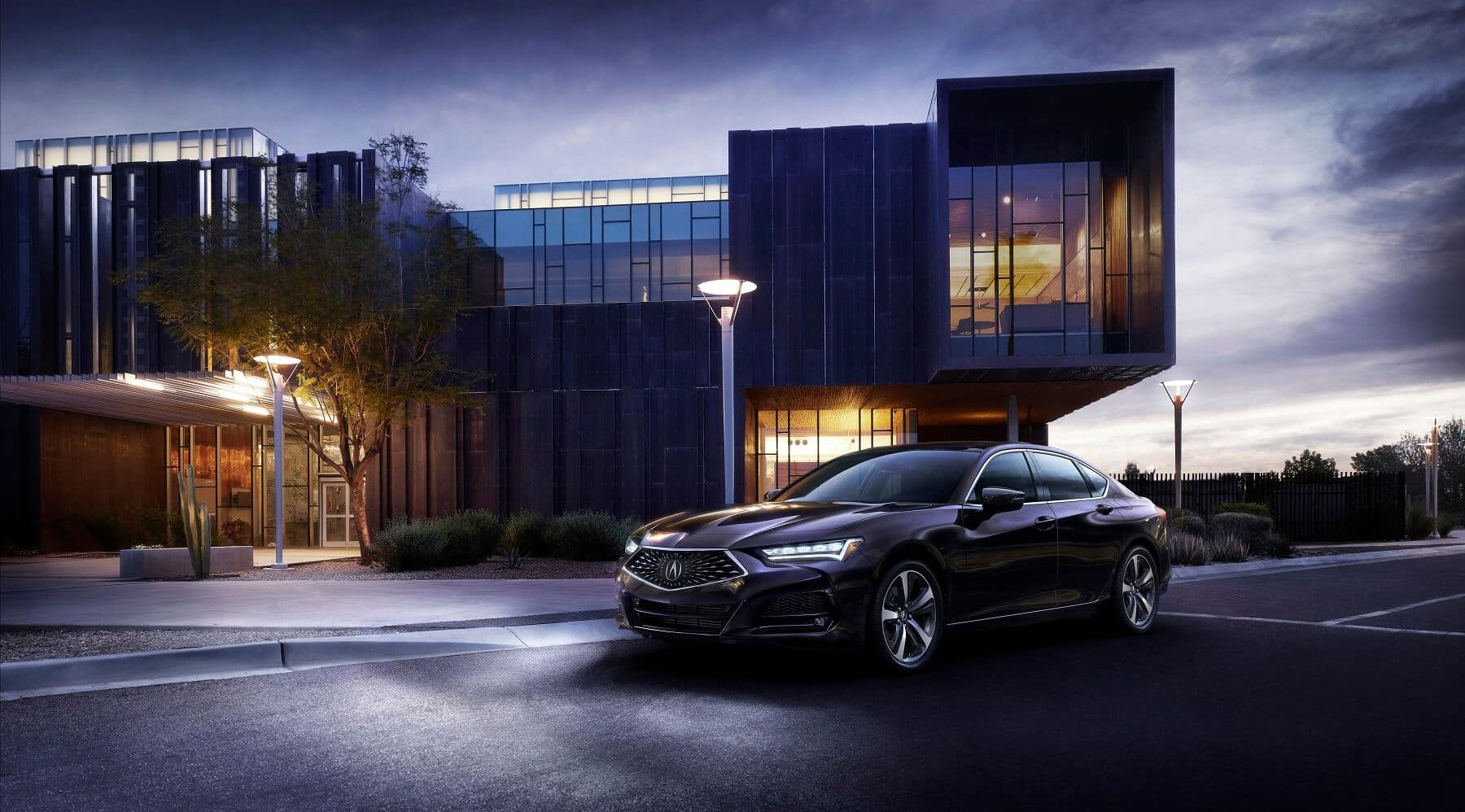 2021 Acura TLX Advance Parked