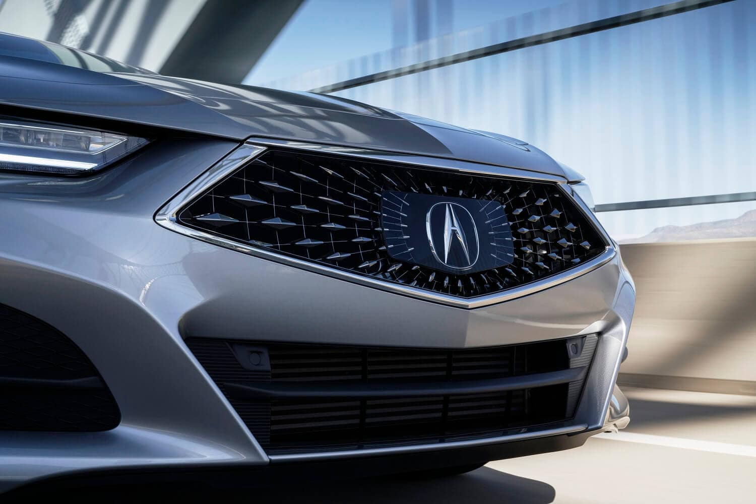 2021 Acura TLX Base Grill Shot