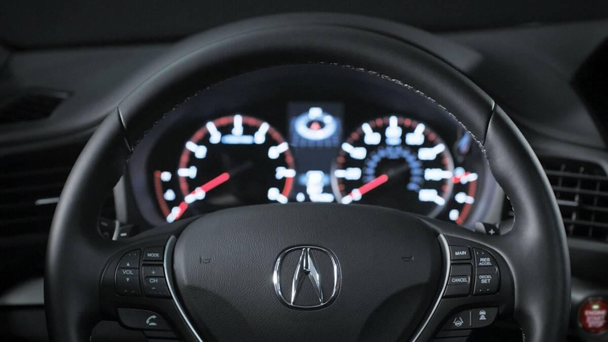 2017 Acura ILX dashboard