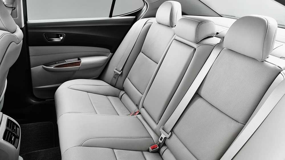 2017 Acura TLX interior seats