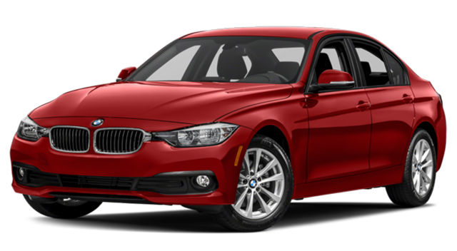 2017 BMW 3-Series Red