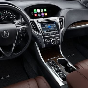 2018 Acura TLX Dash