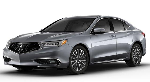 2018 Acura TLX Silver