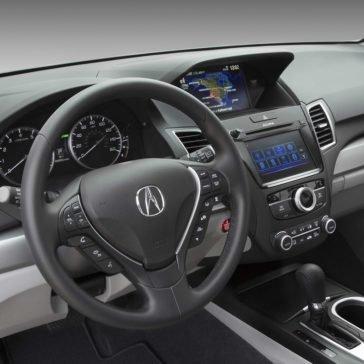 2018 Acura RDX Dash