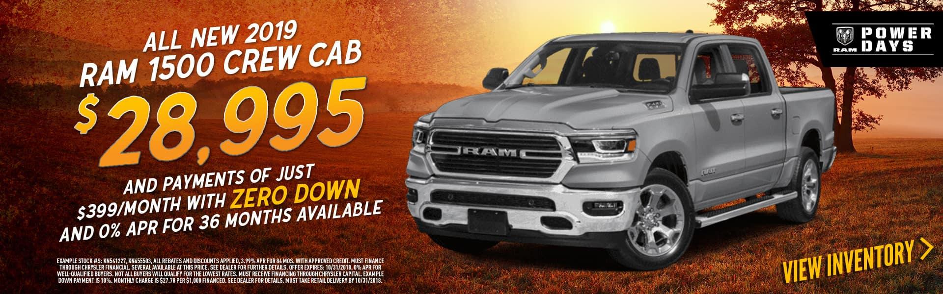 Captivating Bob Howard Chrysler Jeep Dodge RAM. 2019_ram_1500_crew_cab.  2019_jeep_cherokee_latitude_plus