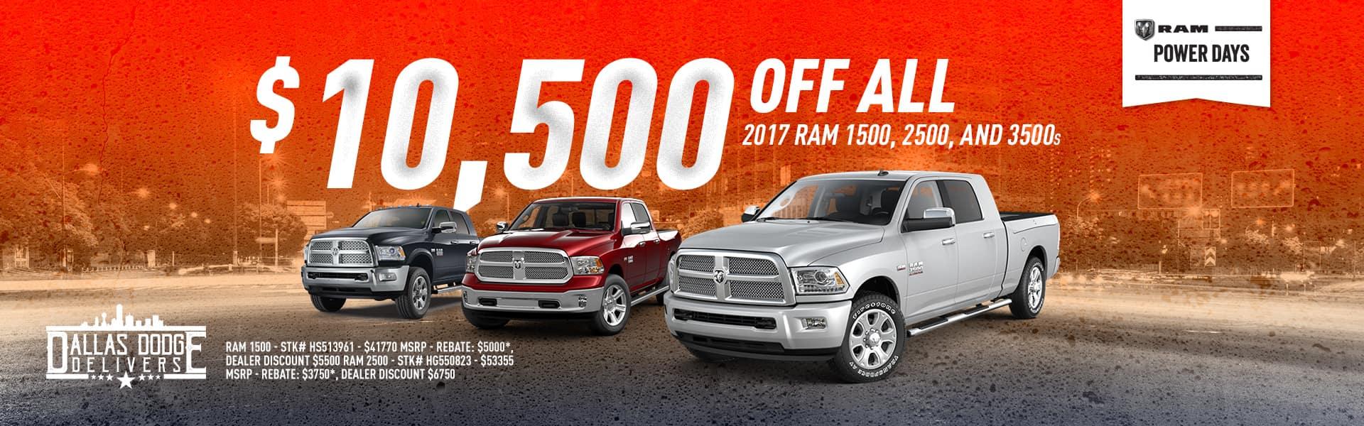 2017 Ram September Offer
