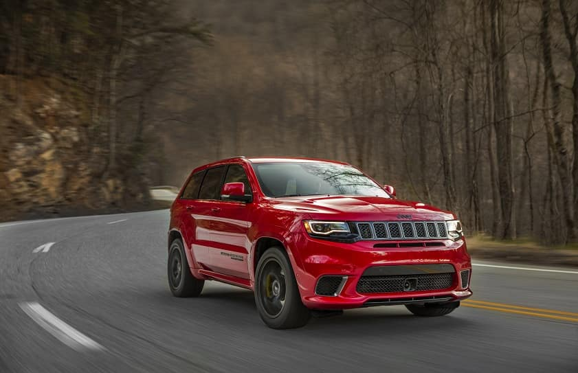 Jeep® Grand Cherokee Trackhawk