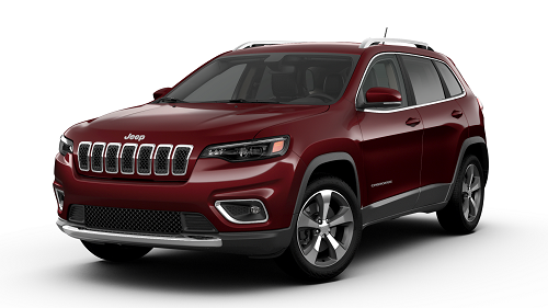 Jeep Cherokee Limited FWD Velvet Red Pearl