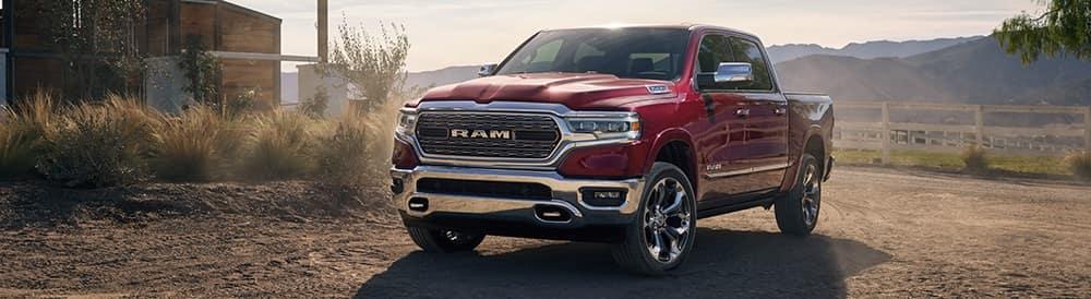 2019 Ram 1500 Delmonico Red