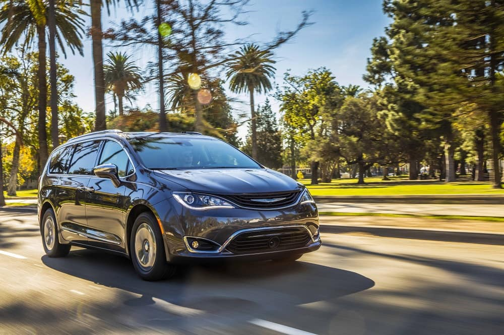 2019 Chrysler Pacifica Performance Specs