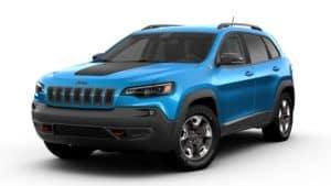 2019 Jeep Cherokee Trailhawke Hydro Blue Pearl Coat