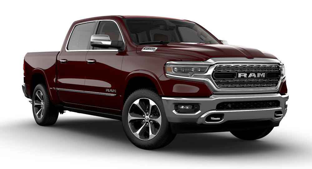 Ram 1500 Limited Delmonico Red Pearl