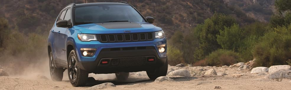 2019 Jeep Compass Laser Blue Pearl Coat
