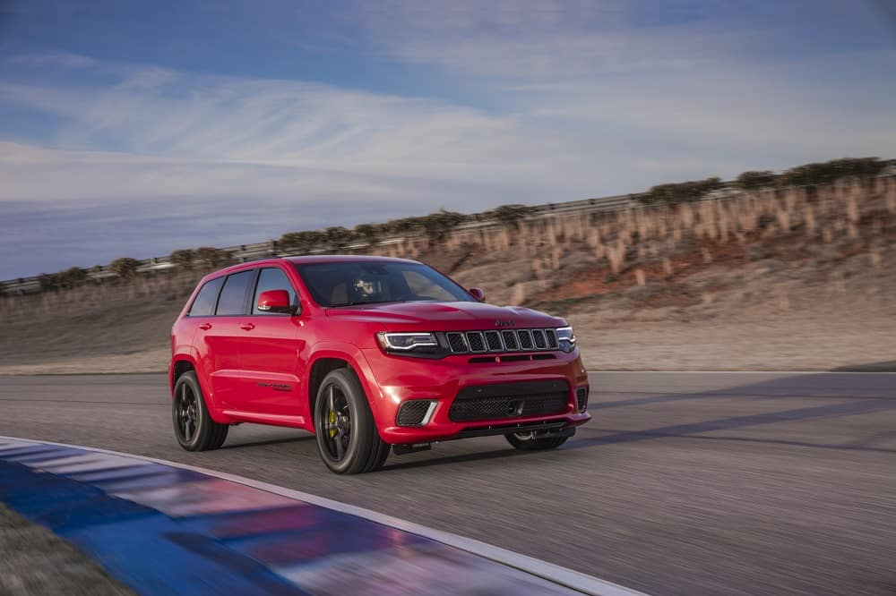 Jeep Grand Cherokee Performance Specs
