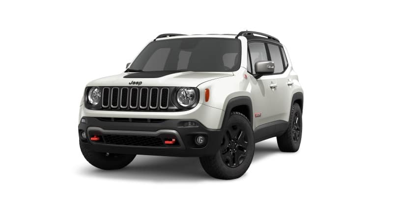 2019 Jeep Renegade Glacier White